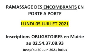 Encombrants 2021 2